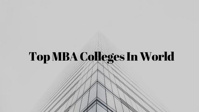 top-mba-colleges-in-world