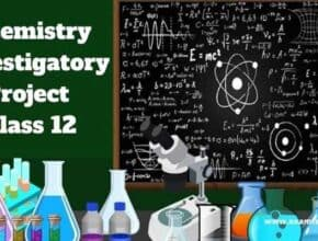 chemistry investigatory project class 12